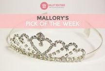 Mallory's Pick of the Week