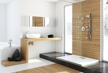 Spa bathrooms / Want to create a bathroom that's part functional space, part spa? Use the right materials, colour palette and accessories, and it's a piece of cake. Be inspired by our spa bathroom ideas.