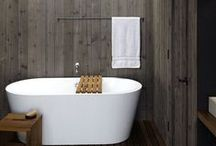Bathrooms that love wood / Lots of lovely wood will transform a once clinical space into a room that oozes texture, natural, warm colour and personality. So, fill your bathroom with it... Here's how to get the look right.