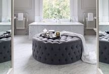 Glamorous bathrooms / Just because your bathroom is small, that doesn't mean you can't go to town on making it the best looking room in the house. Browse our board for ideas, tips and pictures to make you drool...