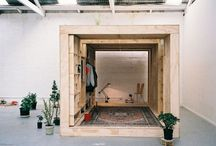 spaces / Intriguing homes, dwellings, shelters... / by Elenor Lonor