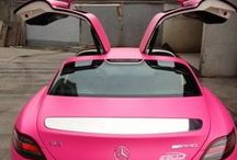 Pink and Drive! / During the month of October, we'll donate 10 percent of any purchase that includes a pink element to the Breast Cancer Research Foundation, including any car floor mat or home mat with a Pink Ribbon. Here is some Pink and Drive inspiration!