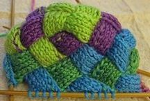 k1,p2: patterns/sts / Knitting stitches and patterns used for self expression when knitting. / by Pamela Scott Hennes