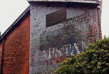 Ghostsigns & Graffiti / Ghostsigns are (or were) painted advertisements on walls of buildings.  These are photographs of what remains.  There's also a smattering of graffiti in here too - just wall art that has caught my eye.