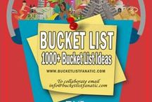 Bucket List Ideas / Bucket list ideas from the awesome Pinterest community and Bucket List Fanatic.  Also see my personal bucketlist covering over 1000 items (with photos and stories) at http://www.bucketlistfanatic.com/my-bucket-list/
