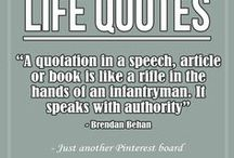 Quotes / Inspiring quotes from here and there