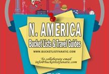 North America — Bucket List Ideas & Guides / Great bucket list ideas and travel guides for North America (excluding the Caribbean, which is in a separate board) by the awesome Pinterest community & Bucket List Fanatic.