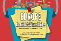 Europe — Bucket List Ideas & Guides / Great bucket list ideas and travel guides for Europe by the awesome Pinterest community & Bucket List Fanatic.