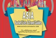 Asia — Bucket List Ideas & Guides / Great bucket list ideas and travel guides for Asia by the awesome Pinterest community.