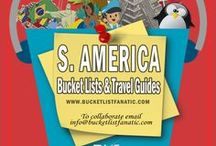 South America — Bucket List Ideas & Guides / Great bucket list ideas and travel guides for South America by the awesome Pinterest community & Bucket List Fanatic.
