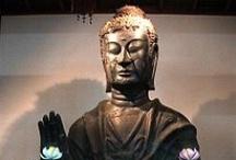 Buddhist art / 仏教美術に関係するものばっか集めたい。……たぶん仏像ばっかり集めていくんだろうなあ。大学での研究に役立てたい。 / by クラ子(Kurako)