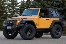Offroad - Jeep Wrangler / by Onder Uysal