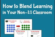 Blended Learning / Cool Online and Offline learning articles, tips, and graphics. / by Wowzers Online Math