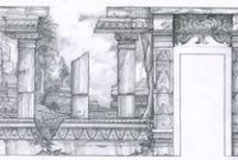 Croxford and Saunders drawings