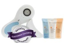 Clarisonic / The Clarisonic offers a prescriptive experience that will beautifully transform your skin.  Day and night, skin is subject to oil, perspiration, debris, makeup, and environmental pollutants. These combine to make a sticky, stubborn pore-clogging film that can make the skin look unhealthy, feel rough, and become irritated, while acting as a barrier to skincare products.