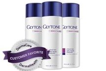 Glytone / The physicians-only product line, GLYTONE is the only skincare line that provides a customized step approach formulated with the highest free acid values available. Free acid values, clinically proven ingredients and a customized step approach combined in GLYTONE in-office treatments and at-home regimens work synergistically to maximize product efficacy and skin tolerability, giving you visible, long lasting results.