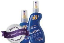 KINeSYS Sunscreen / KINeSYS true performance sunscreen provides broad spectrum protection and is easy to apply before and during any activity. Protect your skin from harmful UVA and UVB rays with a complete range of performance sunscreens for athletes and the entire family. EASY TO APPLY. It does not require messy rubbing and dries quickly without oily residue to hinder grip or comfort. It withstands vigorous activity and allows skin pores to breathe normally.