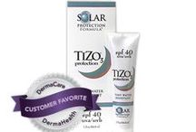 TIZO / The Worlds Best Sunscreen Skin-Care Products for the protection from the fullest spectrum of solar radiation. The different formulas are each carefully engineered to balance specific needs and conditions and offer you unparalleled defense against the relentless effects of the sun. If you are going to be in the sun, you NEED the best Solar Protection Formula you can get. All TiZo products are Mineral Based and Free of chemical sunscreen filters.