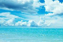 Sun and Turquoise Sea