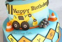 3rd birthday-construction vehicles