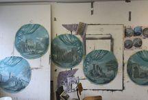Croxford and Saunders studio