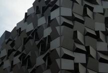 Ebony / Black palette inspired by COLORSTEEL® prepainted steel in Ebony colour.