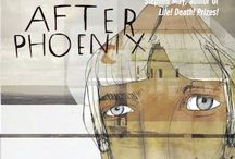 After Phoenix by Martine McDonagh / A darkly comic tale of family, friendship and grief. When Penny's older brother is killed in a motorbike accident, her father moves into the shed and her mother moves into the local psychiatric hospital, leaving Penny alone in their home, with only their cats and her grief for company. http://bit.ly/afterphoenix