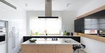 Falmec in action. Kitchen Interior Design / A selection of kitchen interior design project including Falmec products.