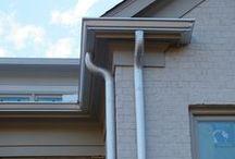 Downspouts / Seamless Gutter Aluminum Downspouts