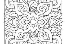Zentangle / Zentangle, doodles and drawings. Great inspirational ideas to get started with.