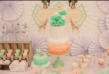 peach and mint party