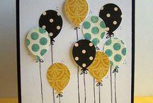 (Geburtstags)Karten DIY / Selbst gemachte (Geburtstags)karten, die das Herz hüpfen lassen