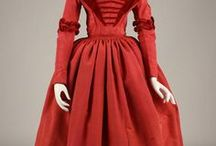 Colourful Victorian Dress
