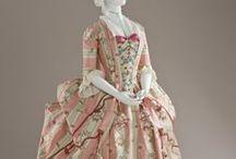 Rococo Fashion / La Robe L'anglaise, La Robe Francaise, La Robe Polonaise