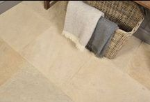 Cotswold Style Flagstones / Recreate that Cotswold flagstone look with natural Limestone hand finished flagstone floor tiles