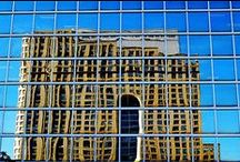 Architecture / Wandering around a city with my camera, I can find buildings, or parts of buildings to present interesting opportunities and challenges to photograph.