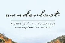 W A N D E R / dreaming, wanderlust, places to go, travel and worldwide beauty in man-made architecture and nature