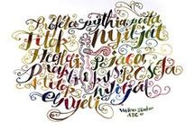 typo and calligraphy