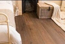 Whitewashed Oak Flooring / Whitewashing enhances and lightens the grain to produce and engineered oak floor with a contemporary appearance.
