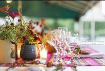 Un Casamiento Latino, Lowlands / Un casamiento rodeado de detalles latinos para una novia argentina y un novio colombiano. Los tomates traen suerte... y los colores alegría!! Salón Lowlands