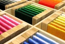 DIY Montessori Materials / Montessori materials and Montessori activities you can make at home. DIY Montessori for Montessori on a budget.