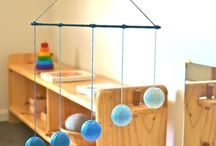 Montessori Baby / Montessori at home with your baby. Get ideas for activities for your baby and how to set up your baby's nursery or bedroom Montessori-style. Montessori mobiles. Montessori baby toys. Montessori baby gym. Montessori floor bed for baby. Montessori weaning cup for baby.