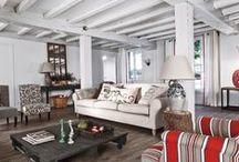 Relooking d'intérieur / Relooking : une maison Landaise, un habitat traditionnel devenu une coquette maison de vacances.  #bricolage #rénovation #maison #bricolons