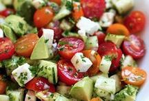 Salads / Every type of salad recipe that you can imagine!  Main meal salads / vegetarian salads / salads with pasta / salads with rice / easy salads / summer salads