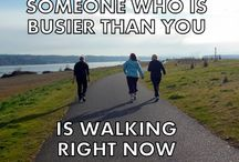 Keep Moving / Staying or becoming physically active is not an option if you want to be healthy. Small consistent steps in the right direction - one at a time....