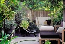 "Backyard Inspiration / ""I strive for two things in design: simplicity and clarity. Great design is born of those two things."" - Lindon Leader  www.shiftspacedesign.com"