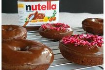 Nutella / Who doesn't love a recipe with Nutella! Nutella Cake, Nutella Cookies, Nutella Desserts, Nutella Brownies, Nutella Shakes, Nutella Cheesecake,