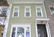 James Hardie Siding Project. Brooklyn, NY / We restored this Historic Brooklyn home to its past glory with HardiePlank Siding.