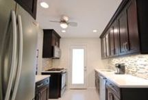 Kitchen Renovation in Hicksville, NY / We built this Kitchen for Lowe's Home Improvement in a Hicksville, NY home.