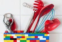 Idee creative con i LEGO / LRGO DIY / Come riciclare i vecchi pezzi di Lego per realizzare oggetti utili e creativi! #LEGO #DIY